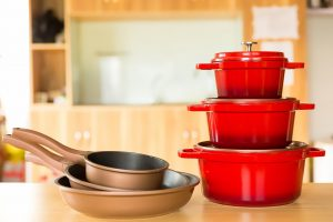 Sở hữu bộ nồi Bonnman thêm ấn tượng cho không gian bếp