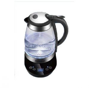 Mã sản phẩm: BM-3236Dung tích: 1,7 lítChất liệu: Thủy tinh chịu nhiệt trong suốtCông suất: 1850 -2200WNguồn điện áp: 200V/50HzTrọng lượng sản phẩm: 1,3KgĐế xoay 360 độTay cầm bằng nhựa có tích hợp công tắc bật/tắt ấmTự động ngắt điện khi sôi và khi ấm cạn nướcTích hợp đèn LED xanh lạ mắtBảo hành 12 tháng